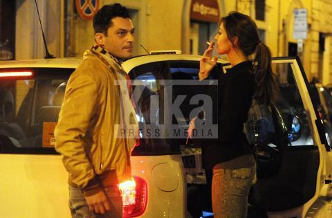 Ilary Blasi Smoking