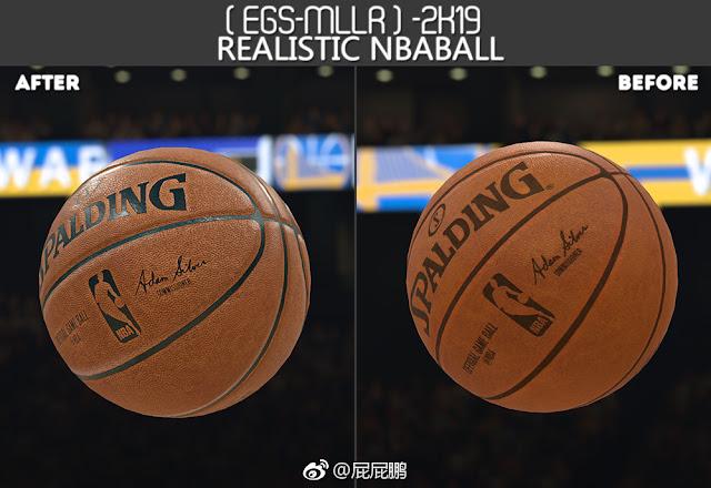 NBA 2K19 Ball Realistic HD