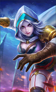 Natalia Bright Claw Heroes Assassin of Skins Old V1