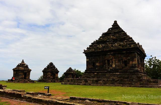 Candi Ijo Yogyakarta berada di perbukitan