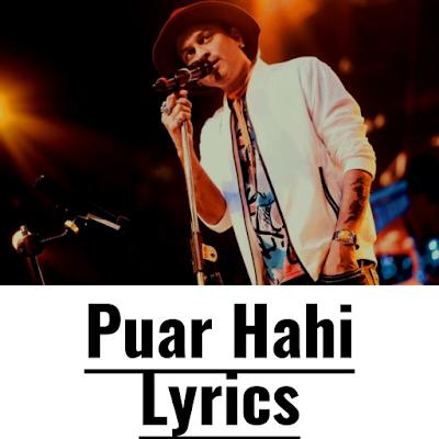 Puar Hahi Lyrics
