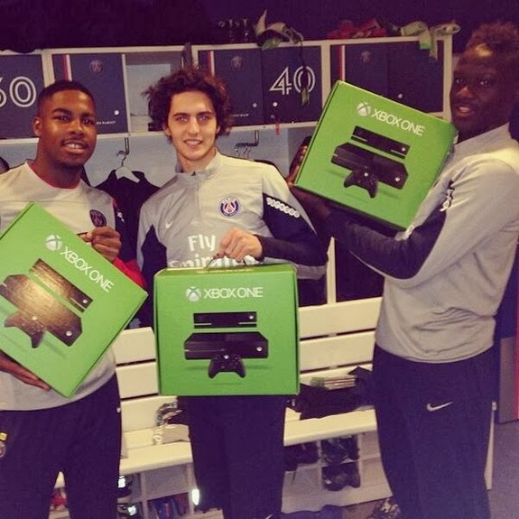 Paris Saint-Germain players get their own personalised Xbox One
