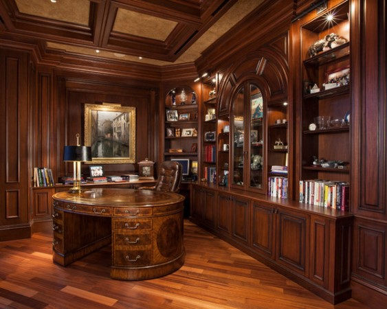 custom home office design image source www houzz custom nj custom homes builder contractor kevo developement designs