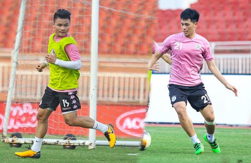 Đình Trọng không kịp dự trận ra quân V-League