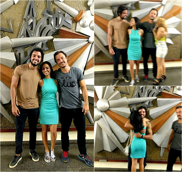 Kayky Brito e Rodrigo Simas