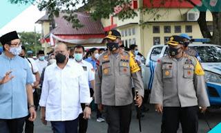 Kapolda Sumut Dampingi Ketua DPD RI Berkunjung ke SPN Hinai Polda Sumut