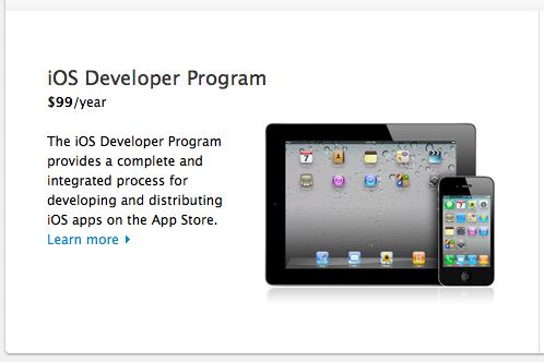 I touchs: Join The iOS Developer Program
