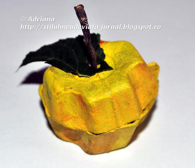 mar galben, craft pentru copii