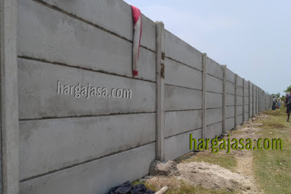 Harga Pagar Panel Beton Semarang terpasang