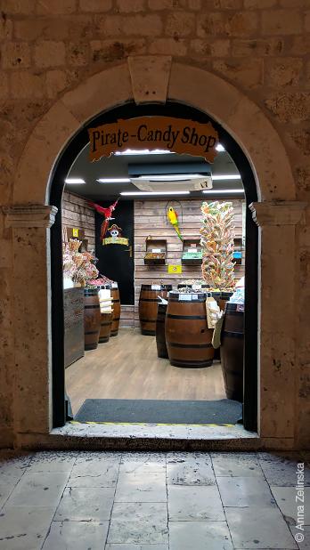 Магазин сладостей Pirate-Candy, Дубровник