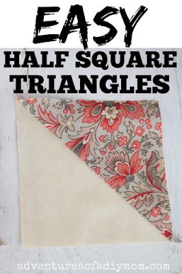 image of a half square triangle