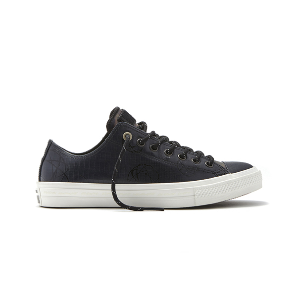 83a2d9cb287e Converse x Futura Chuck Taylor All Star II Rubber Ox. 153023C Water  Resistant  Full Rubber Upper Gusseted Tongue Closed Medial Eyelets
