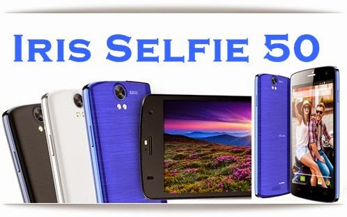 LavaIris Selfie 50: 5 inch,1.2 GHz Quad Core Android Phone Specs, Price