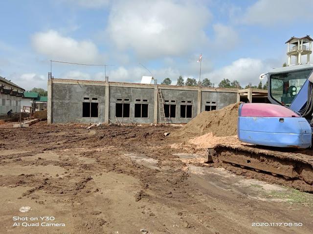 Proyek Pembangunan Rawat Inap RSUD Tamiang Layang Kena Denda, Ini Masalahnya!