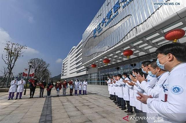 1.020 orang sembuh dari corona, China berterima kasih kepada Indonesia
