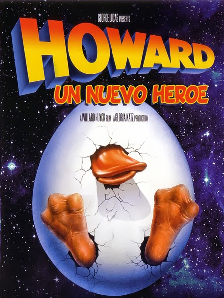 Howard un nuevo heroe ( 1986 ) Español + Subt. DescargaCineClasico.Net