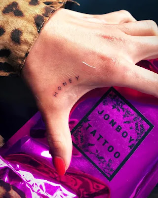 Shay Mitchell's 'Honey' Tattoo