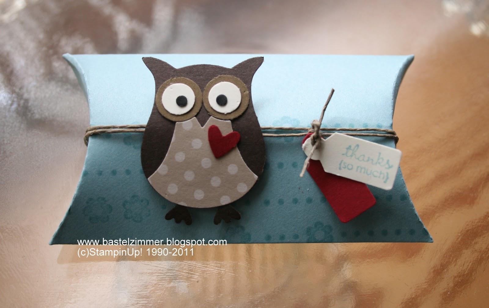 Pillow Box Basteln stin up ideen anleitungen und produkte bestellen 05841 1505