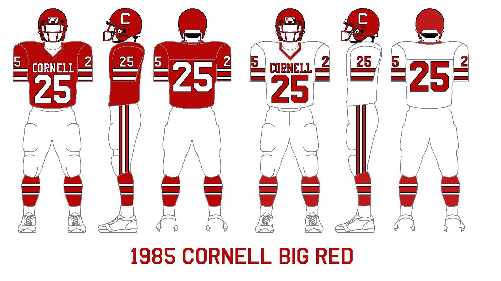 Gridiron Garb: Cornell Big Red (1985-89)