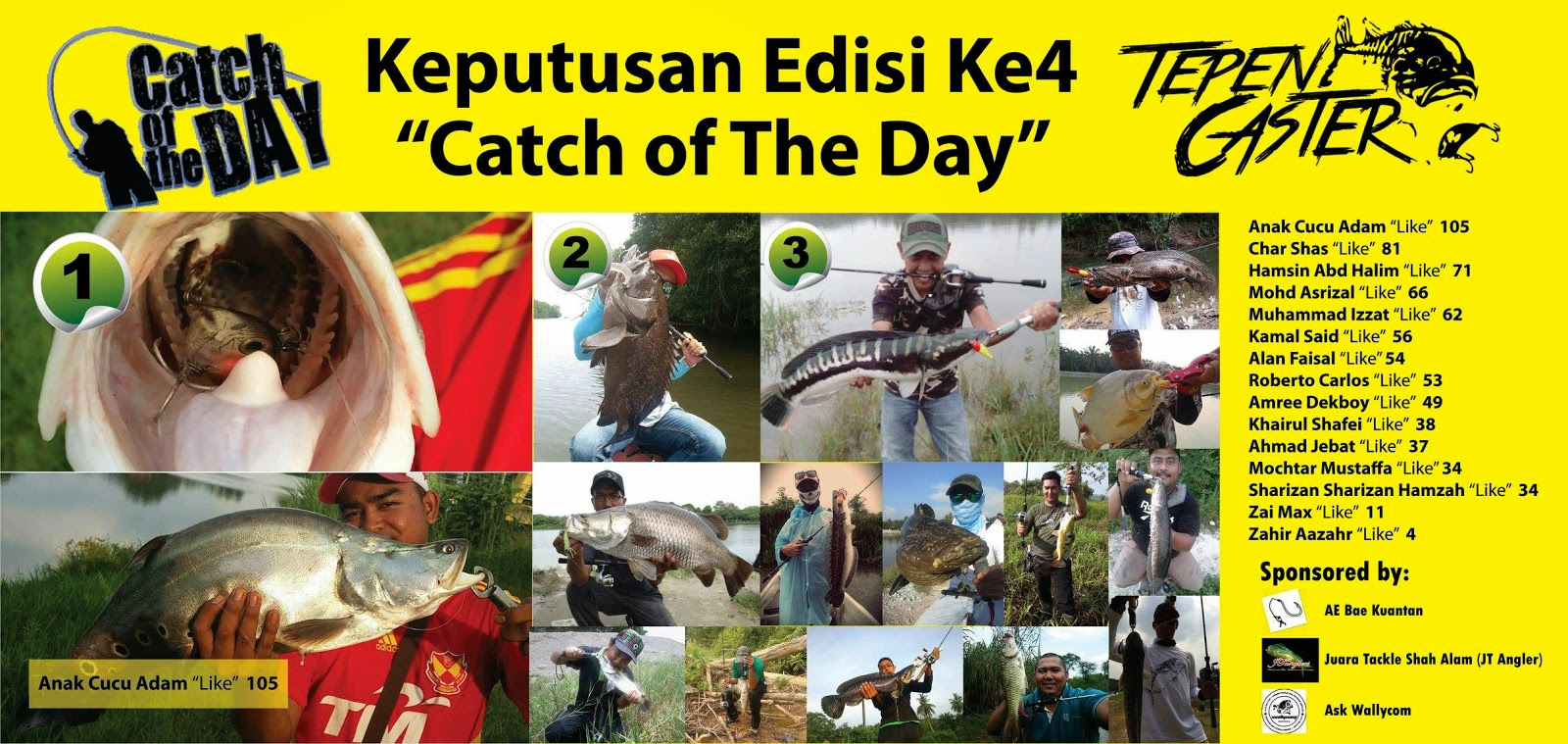 Catch Of The Day 4- Tepen Caster