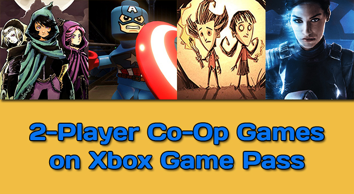 2 Players Co-Op Games on Xbox Game Pass