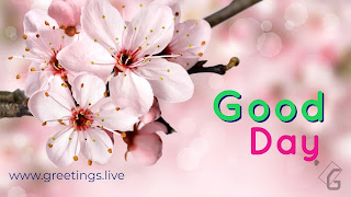 Good day greetings live HD Image