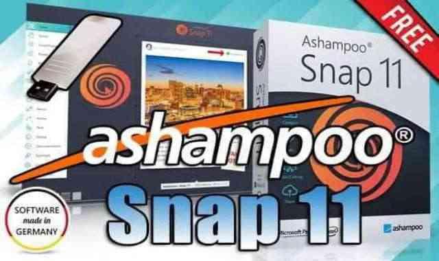 تحميل برنامج Ashampoo Snap 12 Portable نسخة محمولة مفعلة اخر اصدار
