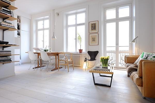 Fresh Home Design Fresh Home Design Ideas Modern One Room Apartment Interior Design In Stockolm
