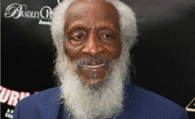"""""""Famed civil right activist, Dick Gregory, also known as a great comedian, actor, and  writer -- died Saturday night in Washington D.C"""""""