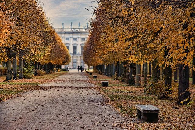 シャルロッテンブルク宮殿、ベルリン、10月