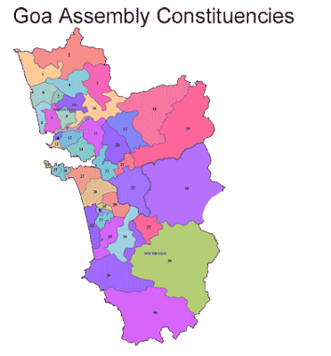 Goa 2017 Legislative Assembly Election Constituency wise Results