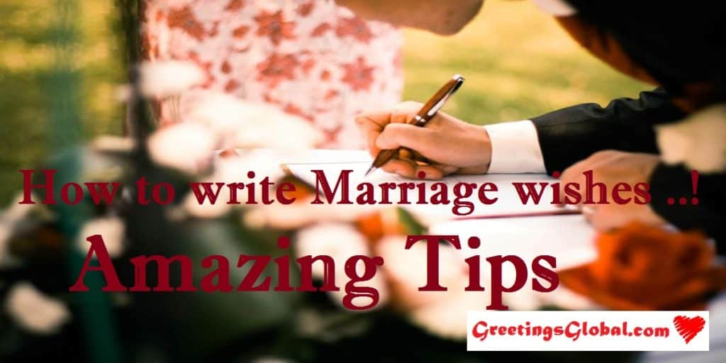 marriage wishes for friend important tips