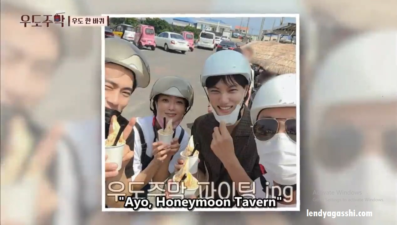 Nonton Honeymoon Tavern dimana : Member Honeymoon Tavern Tak Jae Hoon, Kim Hee Sun, Yoo Teo, Moon Se Yun, dan Kai EXO