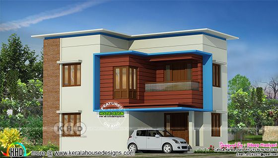 Simple contemporary 1604 sq-ft home