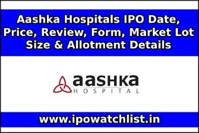 Aashka Hospitals IPO