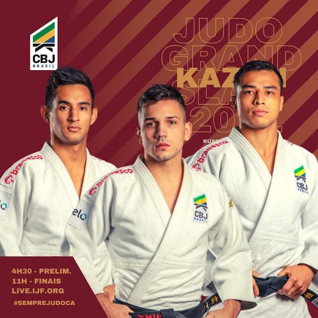 Grand slan judo - Reprodução Twitter