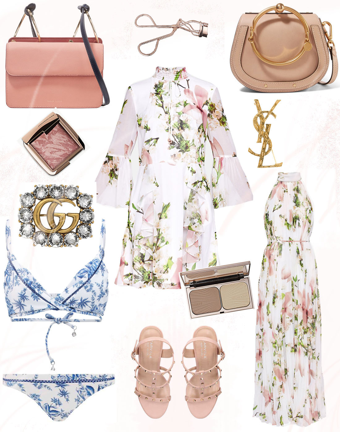 Pretty Wishlist Collage Fashion Blogger Pink