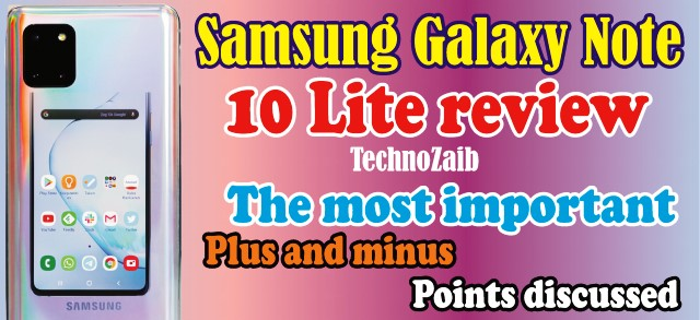 Samsung Galaxy Note 10 Lite review: the most important plus and minus points discussed
