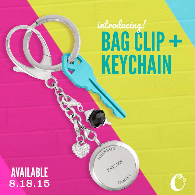 Origami Owl  Bag Clip and Key Chain available at StoriedCharms.origamiowl.com