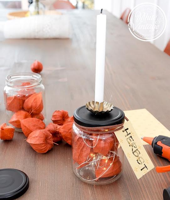 Chic Antique Kerzenhalter selber machen