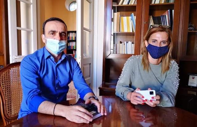 Ναύπλιο: Συνάντηση εργασίας Ζέρβα - Ράλλη στα γραφεία του ΔΟΠΠΑΤ