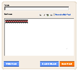 A janela HTMLJavascript ficou pequena demais