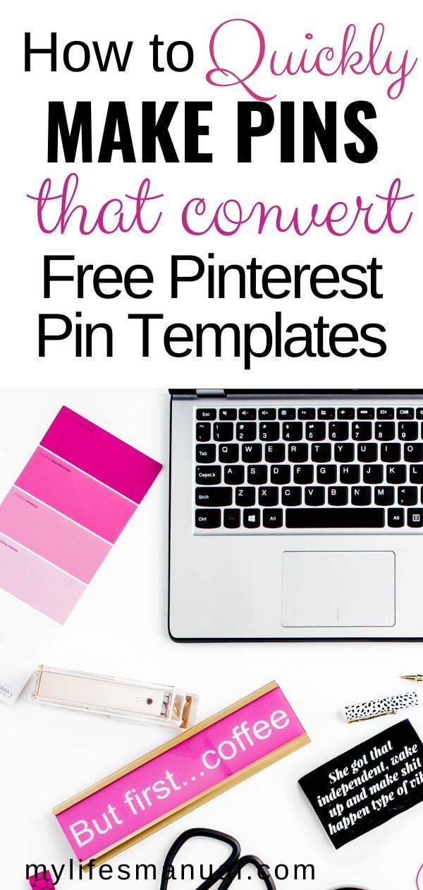 Pinterest marketing tips. Quickly make Pinterest pins fast.