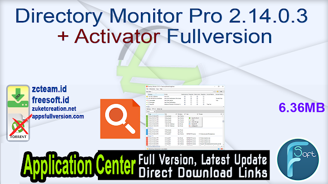 Directory Monitor Pro 2.14.0.3 + Activator Fullversion