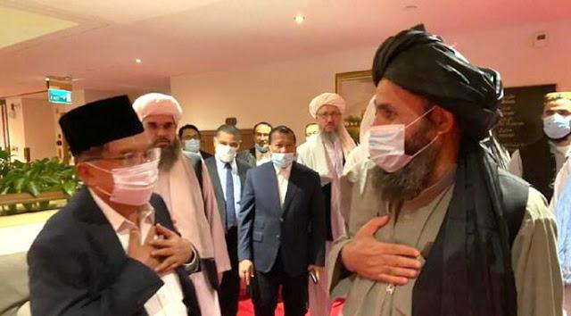 JK: RI Tetap Jalin Hubungan dengan Afghanistan Kendati Dipimpin Taliban