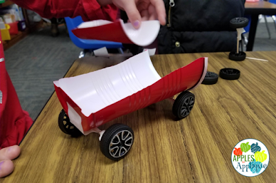 Christmas STEM Activity: Build a Sleigh for Santa! | Apples to Applique
