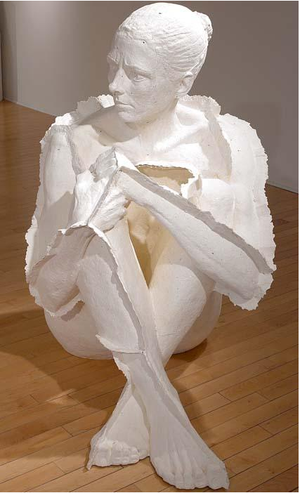 Paper Sculpture Woman