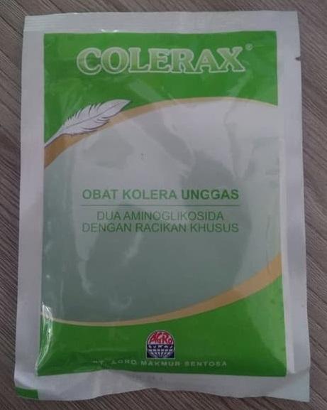OBAT : COLERAX