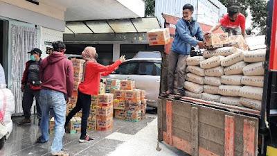 PSMTI-PITI Malang Bagi-bagi Takjil dan Bantu Korban Gempa