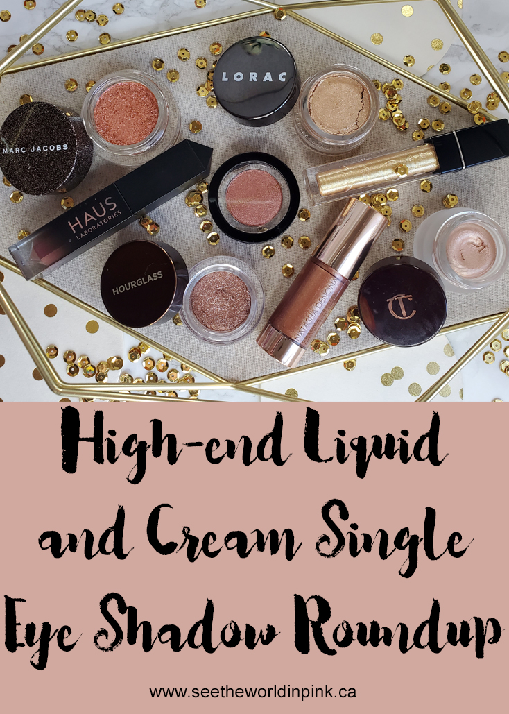 High-end Liquid, Cream and Shimmer Eyeshadow Roundup - Try-ons, Swatches and Thoughts